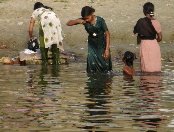Le Gange à Varanasi