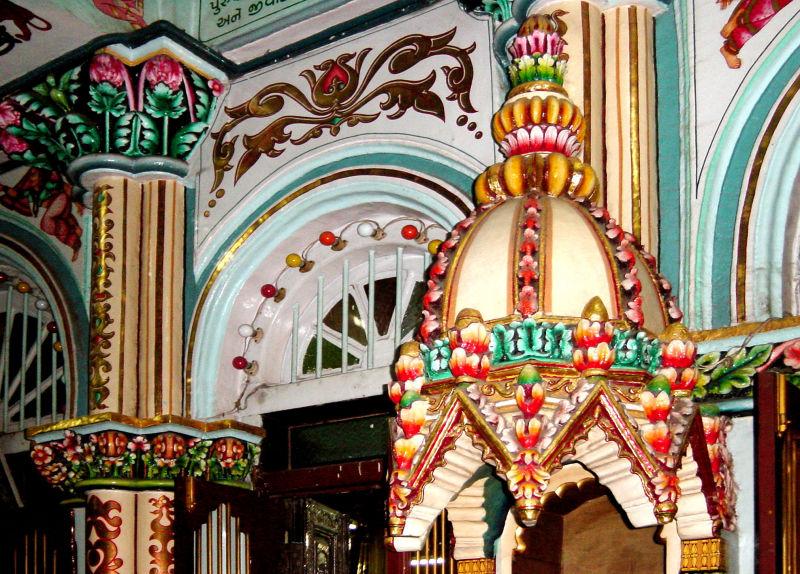 Un temple de Bombay