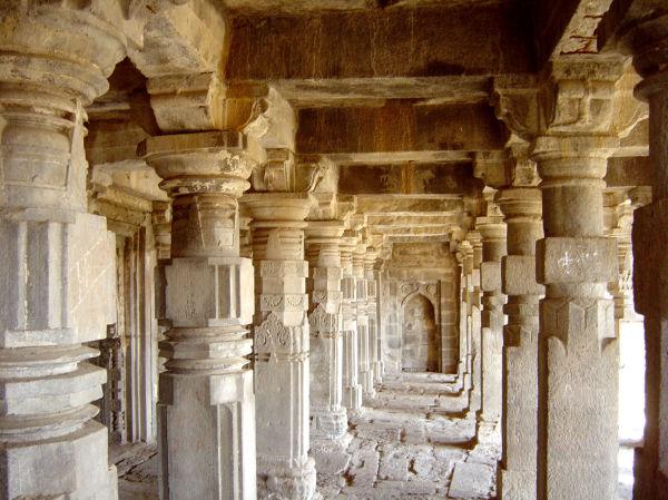 Un temple de Daulandabad