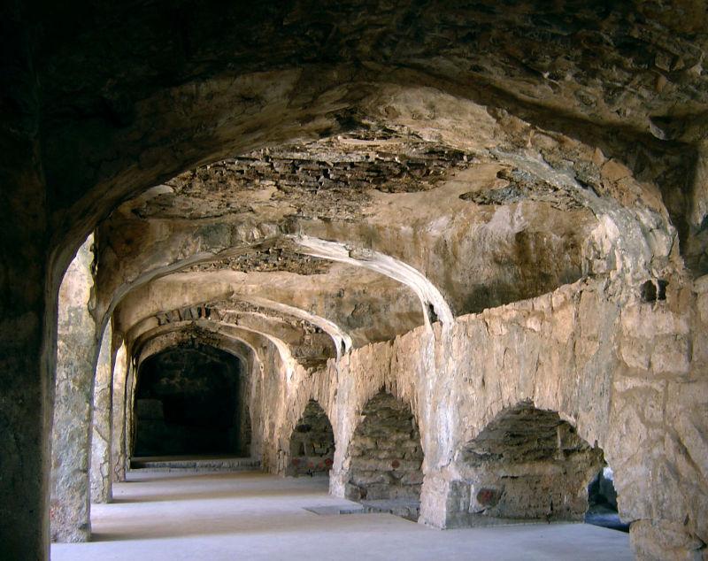 la forteresse de Golgonda