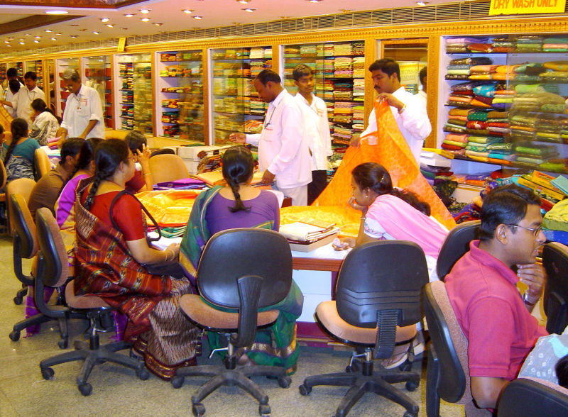 Marchand de saris
