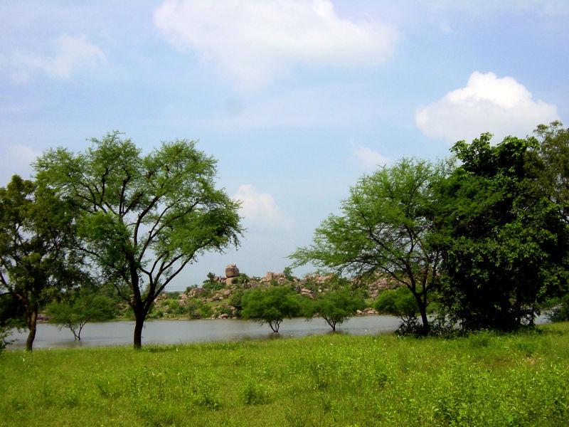 Countryside near Hyderabad