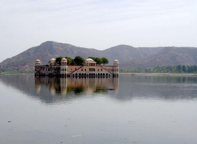Le palais d'été de Jaipur