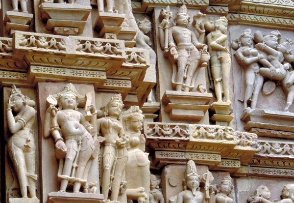 Les bas-relief De Kajuraho