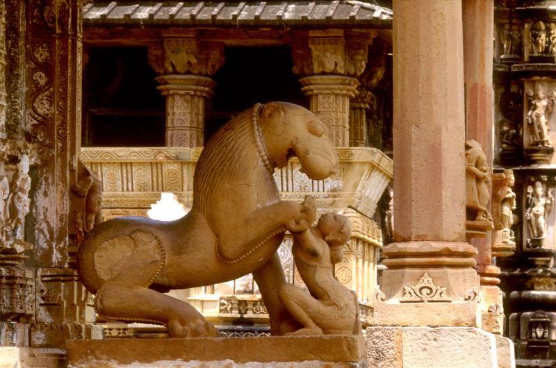 Les temples de Kajuraho