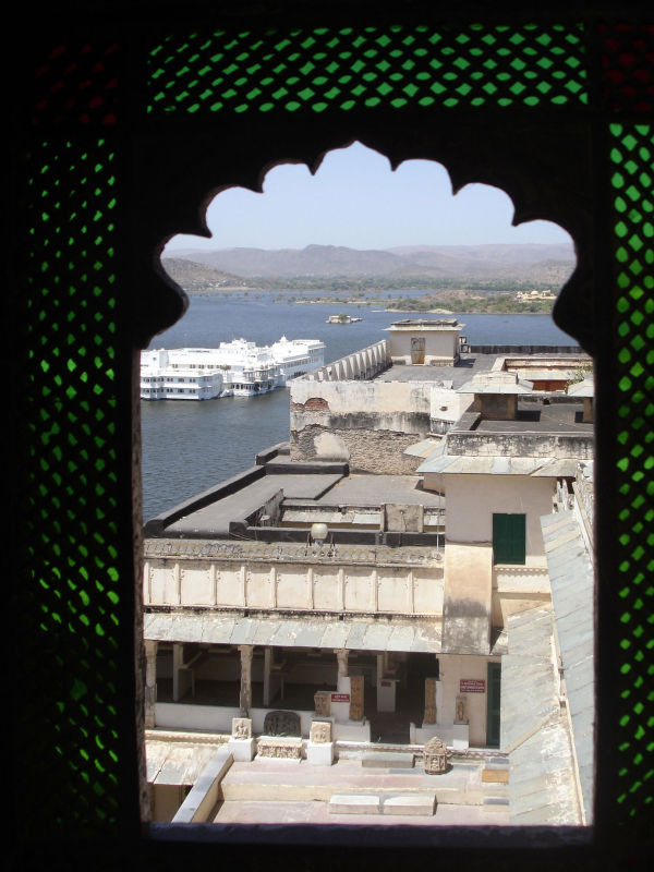 Le palais d'Udaipur