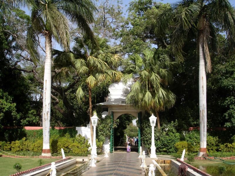 Un parc d'Udaipur