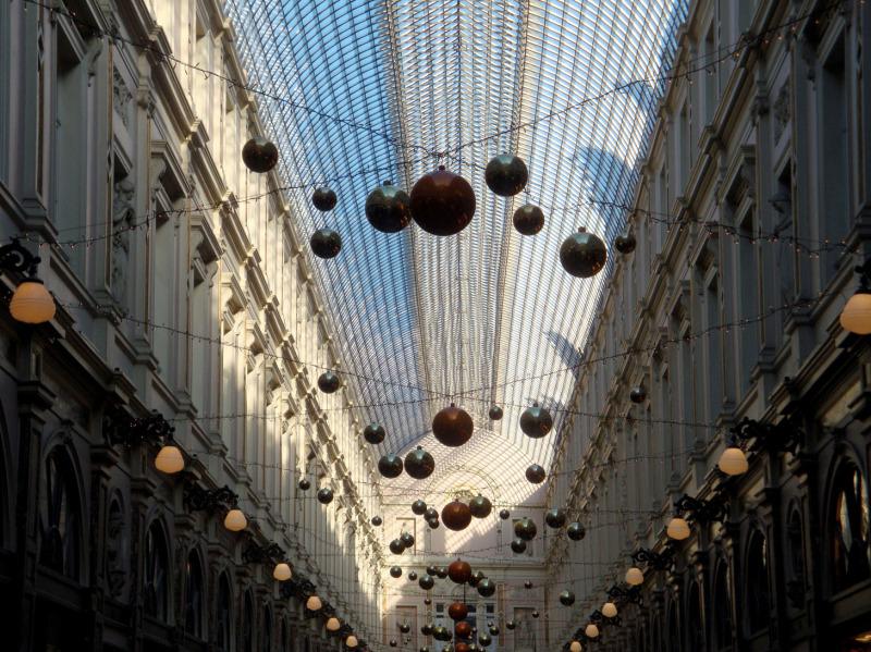 Gallerie marchande Bruxelloise