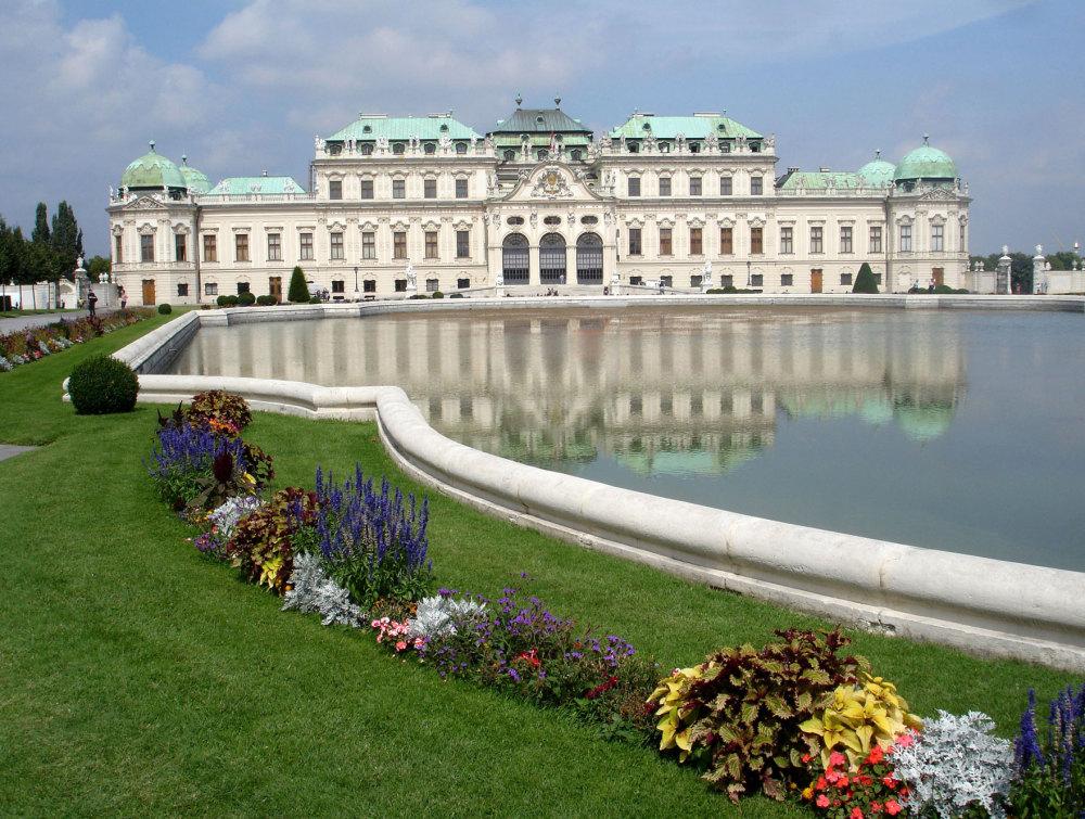 Le palais du Belvedère