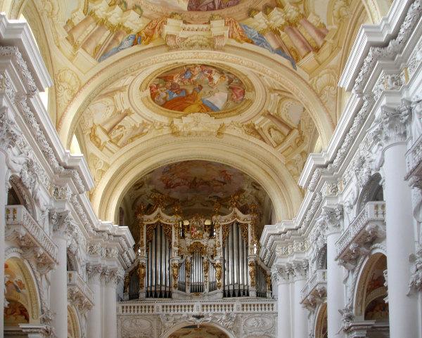 L'abbaye de Saint Florian