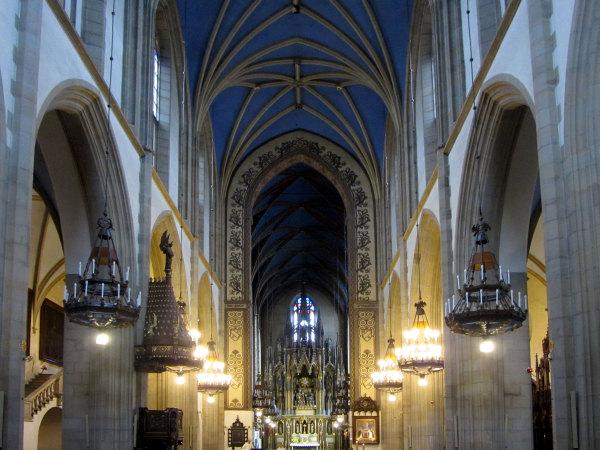 L'église du couvant des dominicains à Cracovie