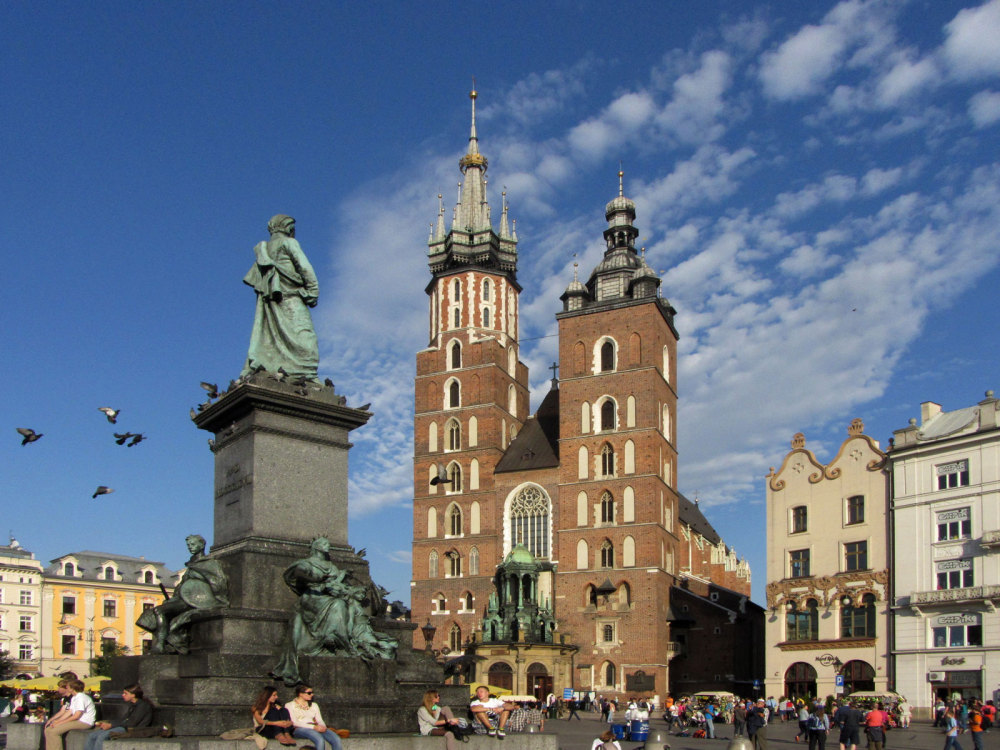 La cathedrale de Cracovie
