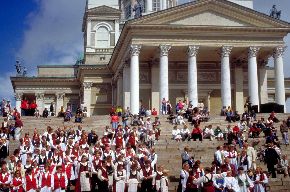 La fête à Helsinki