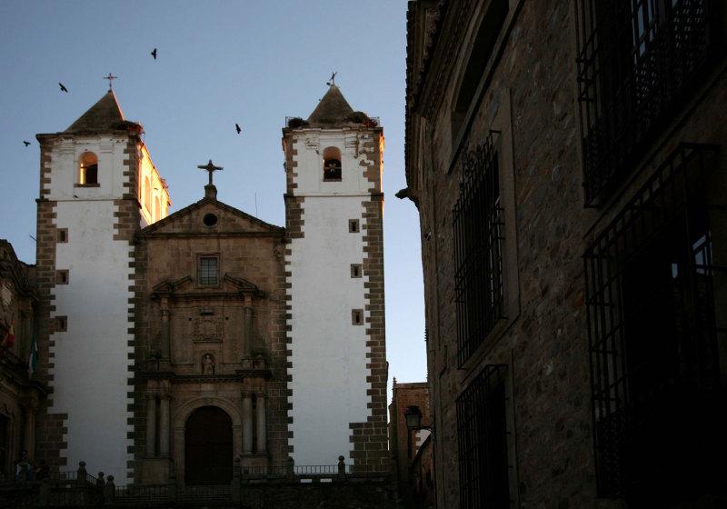 La vieille ville de Caceres