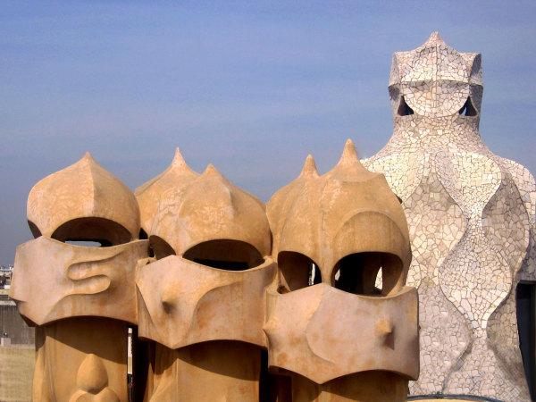 Un toit de Gaudi