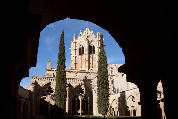 Le cloitre du monastère de Vallbona de le Monges