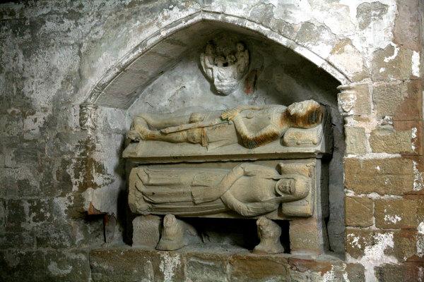 Les tombaux du monastère de Vallbona de le Monges