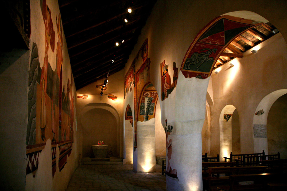Eglise romane pyrénéene