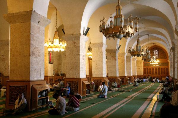 La grande mosquée d'Alep