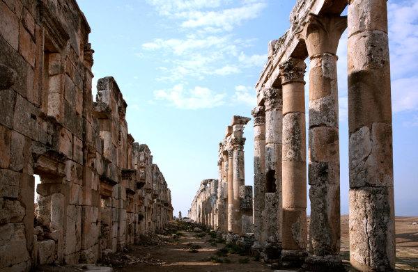 La ville romaine d'Apamée