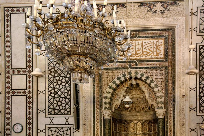 La grande Mosquée de Damas