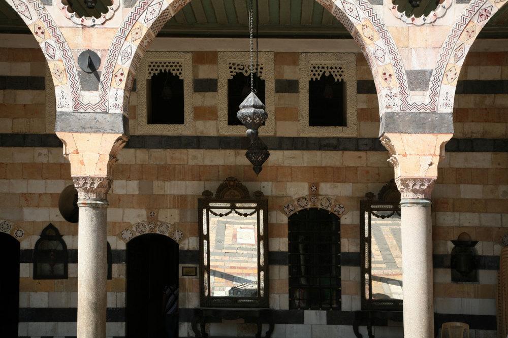 Le palais de Damas