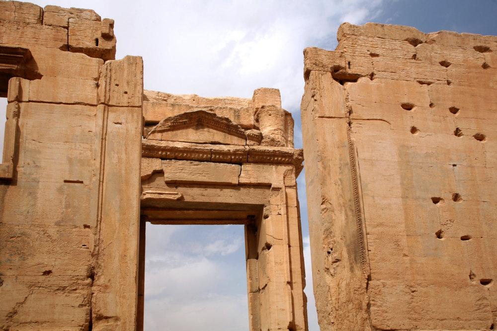Le grand temple de Palmyre