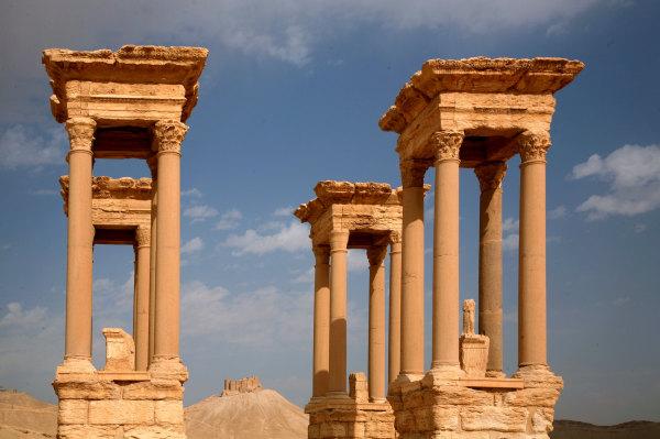 les vestiges de Palmyre