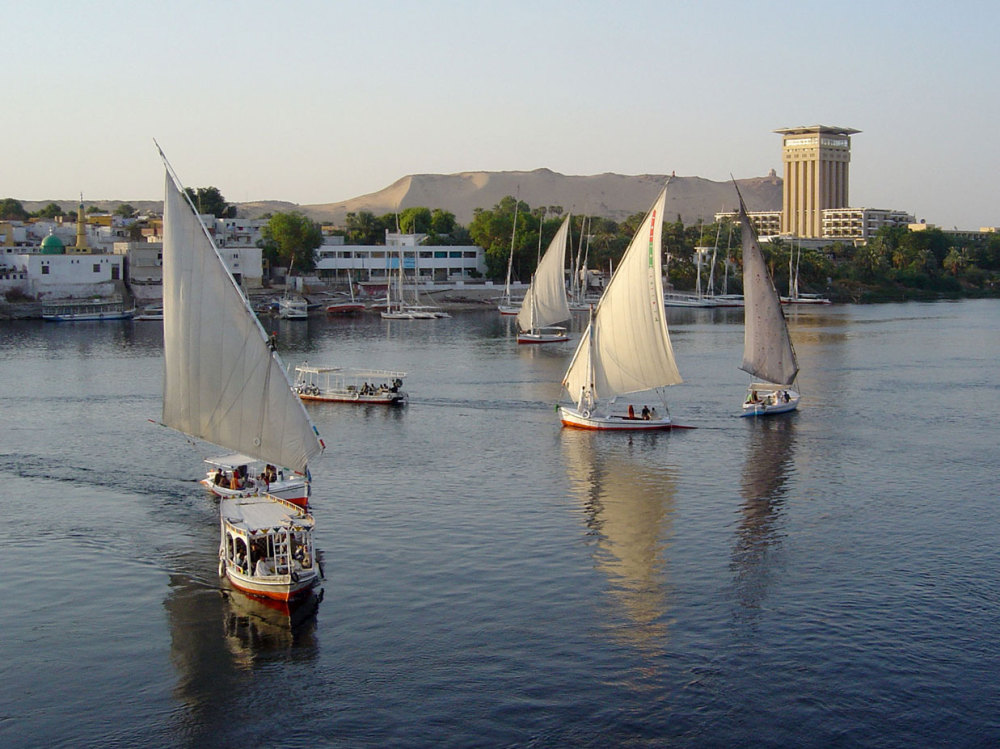Le port d'Assouan