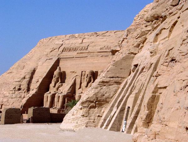 Les temples d'AbouSimbel