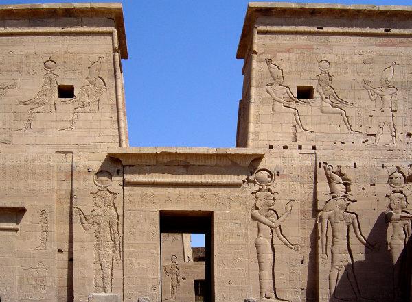 Le grand temple de Philae