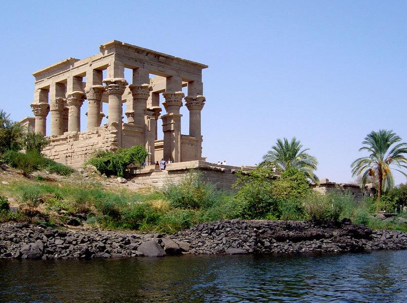 le temple de Trajan à Philae