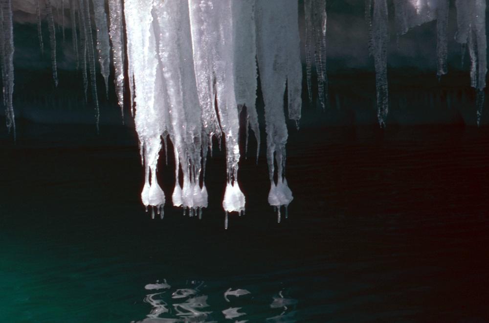 Un rebord d'Iceberg au large de Dumont d'Urville