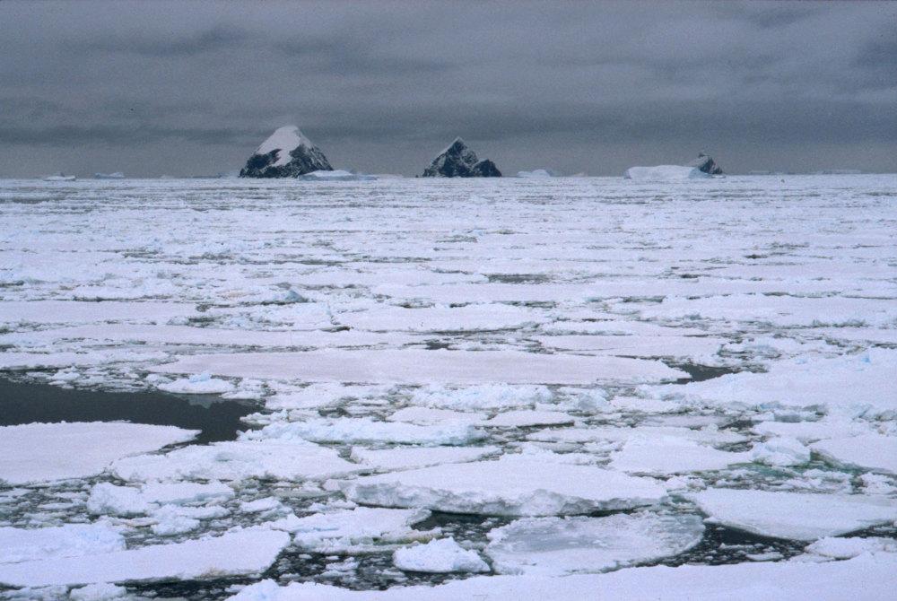 Le début de la péninsule antarctique
