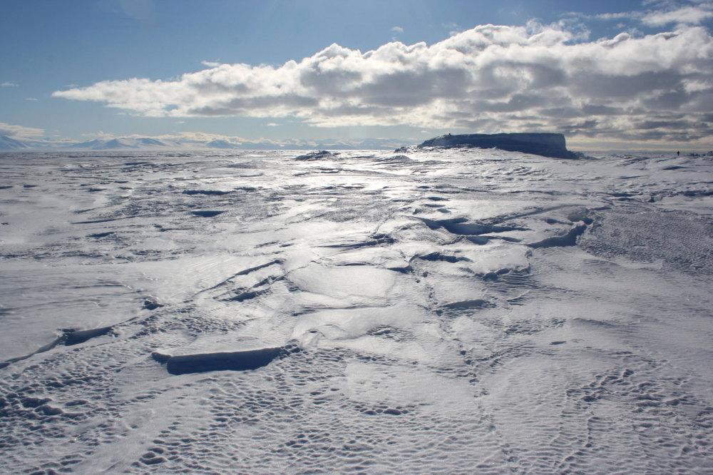 la cote de la mer de Ross