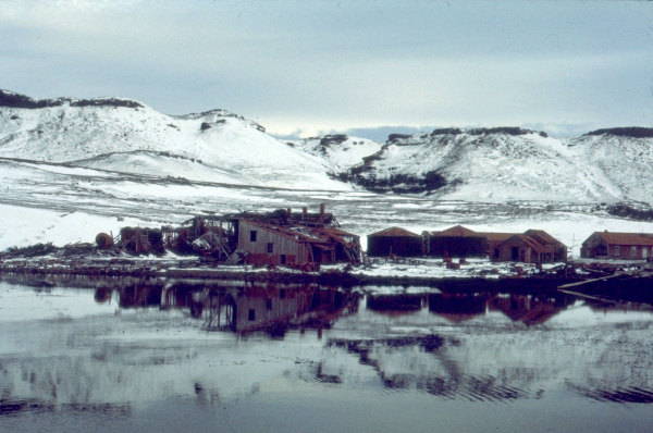 Ancienne usine baleinière de Kerguelen