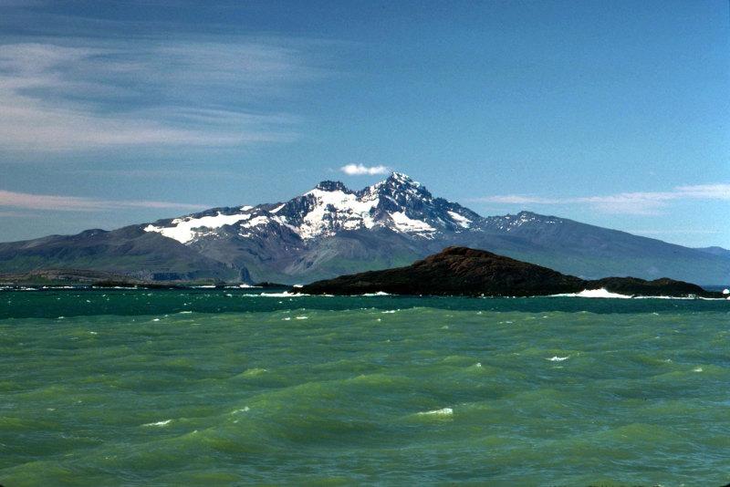 Le mont Ross depuis la baie de la table