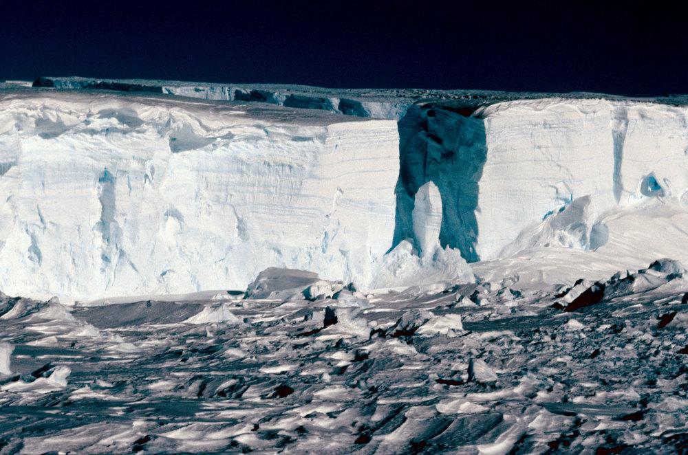 Le glacier de l'Astrolabe