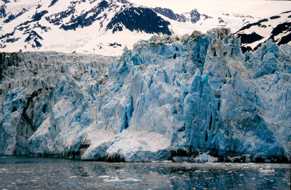 Le glacier Barry