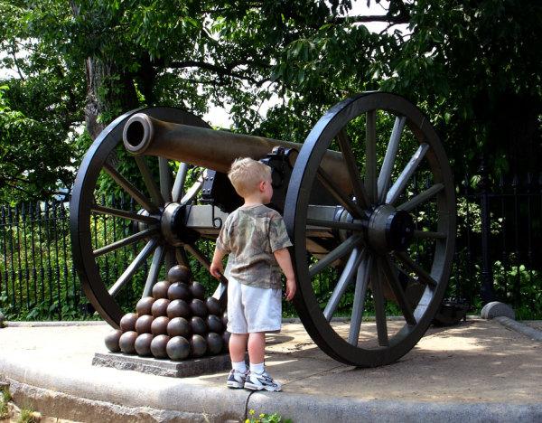 Le champ de bataille de Gettysburg