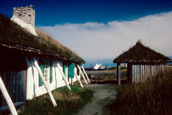 Une ferme de Louisbourg