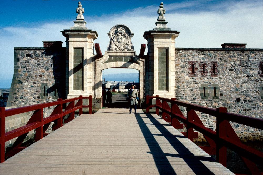 L'entrée de Louisbourg