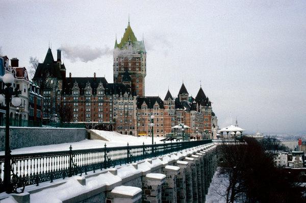 Quebec sous la neige