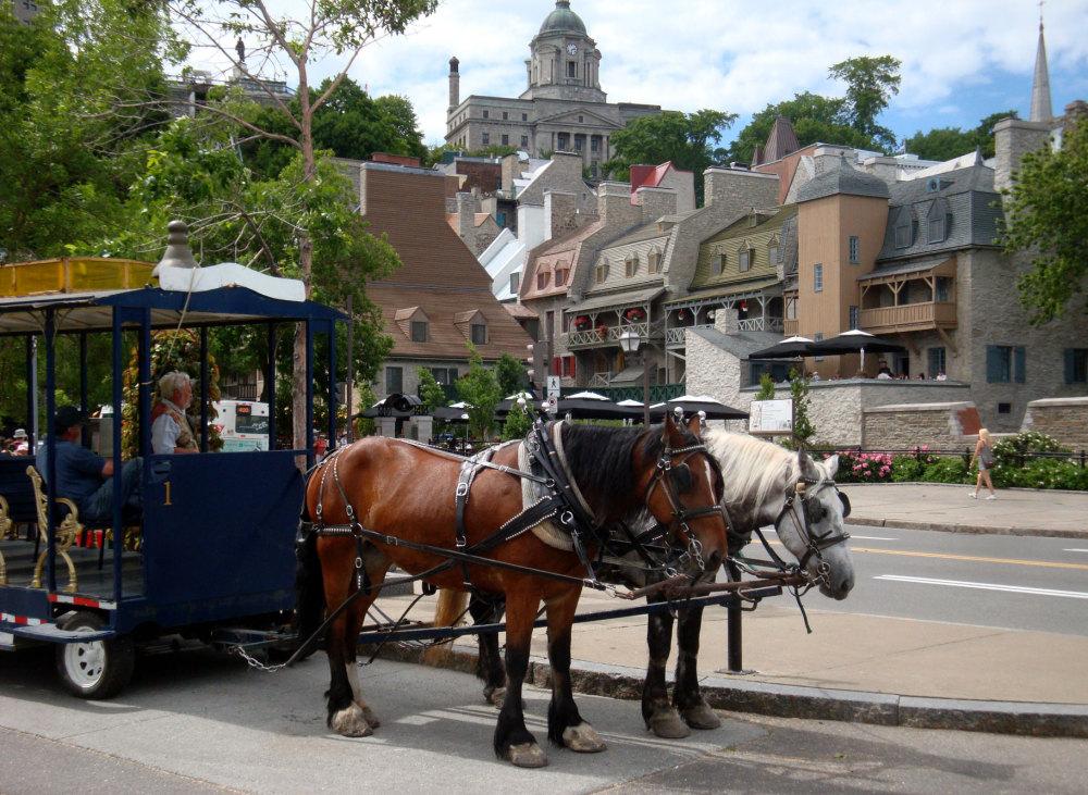 Le tram de Quebec