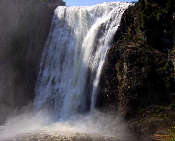 Les chutes Montmorency