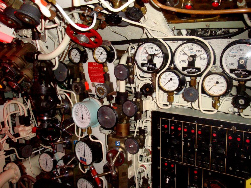 Le sous-marin du musée de la pointe aux Pères