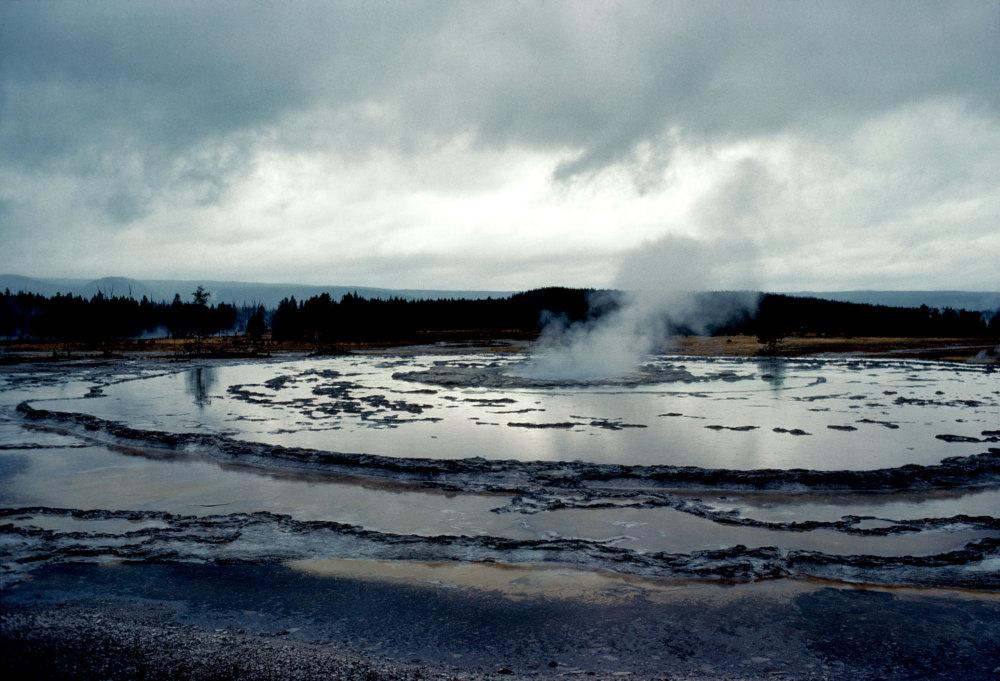 Les geisers de Yellowstone