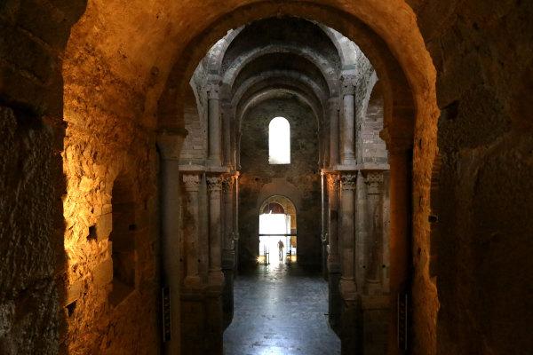 L'abbaye de san Pere de Rodes