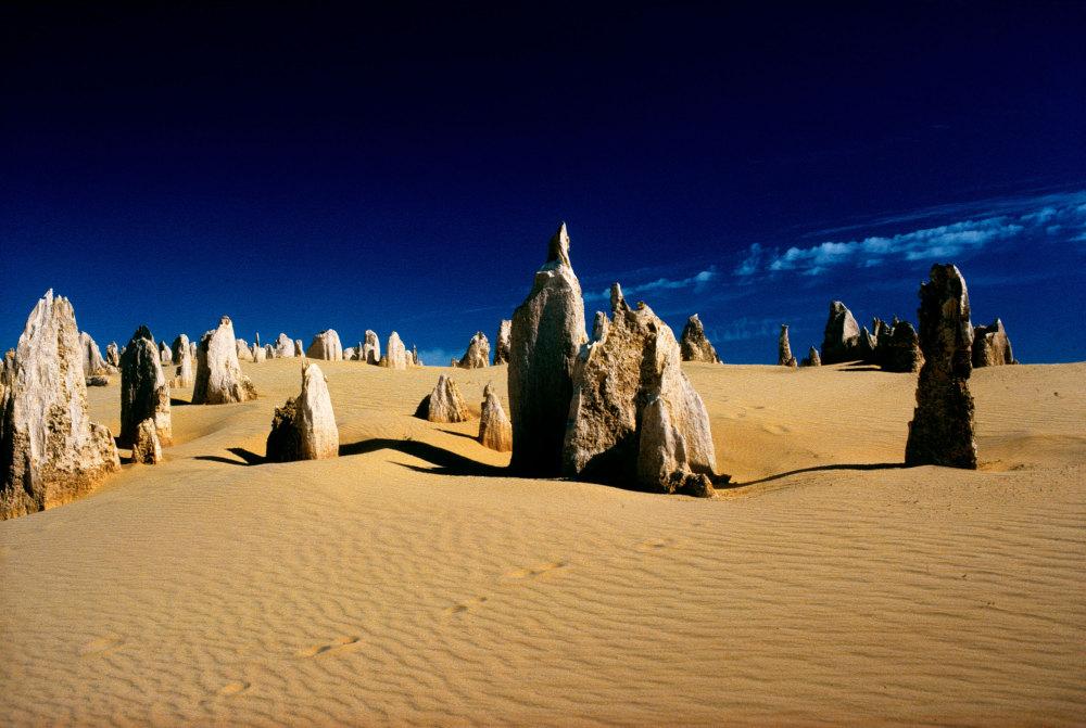 Les Pinnacles sur la cote Ouest Australienne