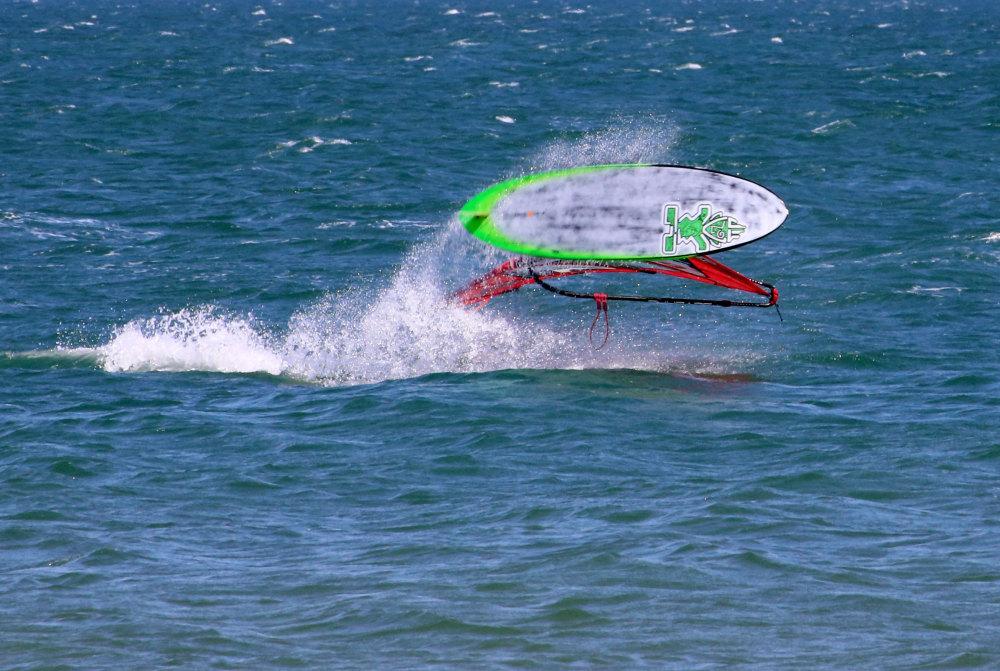 Planche à voile au Mondial du vent